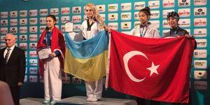 Beyşehirli milli tekvandocu Avrupa üçüncüsü oldu