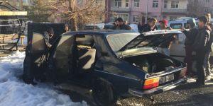 Seydişehir Merkez'de Yanan Araç Korkuttu