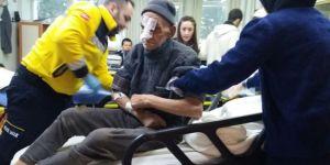Donma tehlikesi geçiren yaşlı adam kurtarıldı