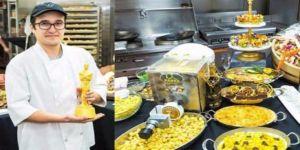 Oscar'da helal yemeklerden sorumlu Türk aşçı