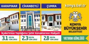 Büyükşehir'den yatırım günlüğü