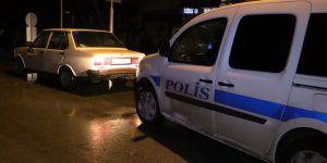Polisten kaçan ehliyetsiz sürücü yakalandı