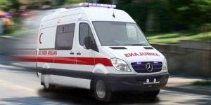 Konya'da 7. kattan düşen işçi ağır yaralandı