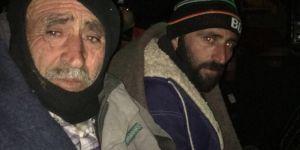Beyşehir'de mahsur kalan balıkçılar kurtarıldı