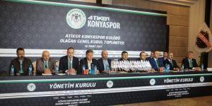 İşte Konyaspor'un yeni yönetimi!