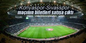 Konyaspor-Sivassspor kupa maçı biletleri satışa çıktı