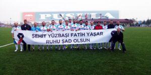 Şehit Yüzbaşı Fatih Yaşar'ı Unutmadılar