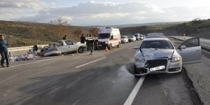 Seydişehir'de trafik kazası: 8 yaralı