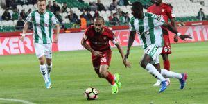 Atiker Konyaspor: 1 - Gaziantespor: 2