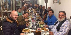 Farklı ülkeden misafirler Kandil Etliekmek Evi'nde