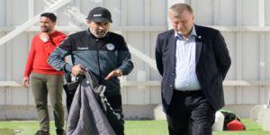 Ahmet Şan- Aykut Kocaman görüşmesi
