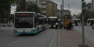 Nalçacı Caddesi'nde kaza