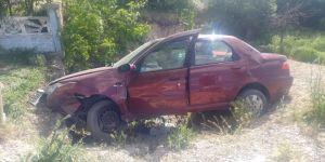 Ereğli'de trafik kazası: 2 yaralı