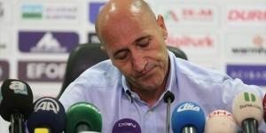 Bursaspor Teknik Direktörü Adnan Örnek İstifa Etti
