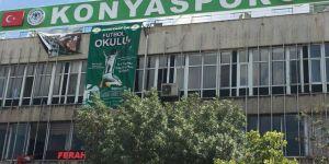 Konyaspor Zafer Tesisleri bakımda