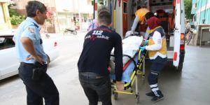 Konya'da polisten kaçarken 4. kattan düştü