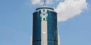 Konyaspor bayrağı Kulesite'de dalgalanıyor