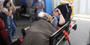 Maganda kurşunu Suriyeli kadını yaraladı