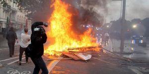 Hamburg'ta 411 gözaltı