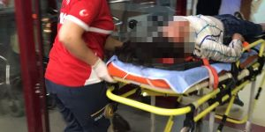 Konya'da  otomobilden atlayan genç kız ağır yaralandı