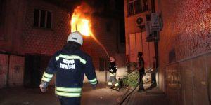 Şükran Mahallesinde yangın