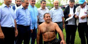 Seydişehir'de Başpehlivan Yeşil Oldu