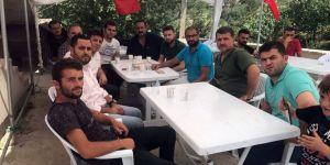 Konyaspor'dan Eren Bülbül'ün ailesine taziye ziyareti