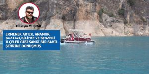 ERMENEK'E DENİZ GELMİŞ...
