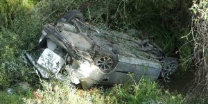 Otomobil Uçuruma Yuvarlandı: 1 Ölü, 2 Yaralı
