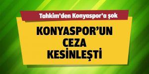 Tahkim'den Konyaspor'a şok