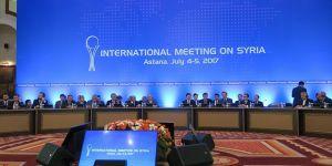 Astana'daki Suriye Toplantısı 14-15 Eylül'de Yapılacak