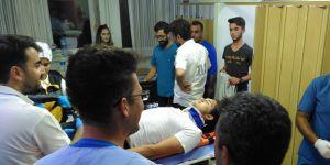Konya'da Trafik Kazası:1 Yaralı