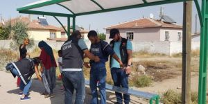 """Konya'da """"Narko-sokak"""" Uygulaması"""