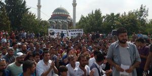 Konya'da Saya İşçilerinden İş Bırakma Eylemi