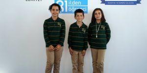 Konya'dan başarılı üç öğrenciİş Bankası desteğiyle Darüşşafaka'da