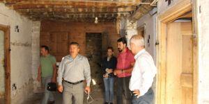 Seydişehir'de Bakırcı Evi restorasyon çalışmaları başladı