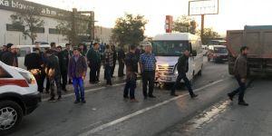 Konya'da İşçi Servisi İle Hafif Ticari Araç Çarpıştı: 12 Yaralı