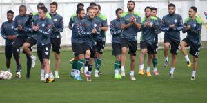 Konyaspor, Salzburg maçı hazırlıkları