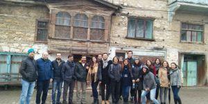 Şehir ve Bölge Planlama Bölüm Öğrencileri Beyşehir'de Buluştu