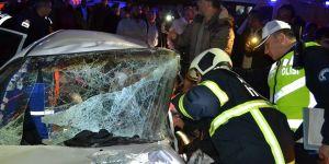 Aksaray'daki Zincirleme Trafik Kazası