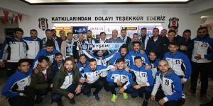 Özaltun Beşiktaş Taraftarlarıyla Buluştu
