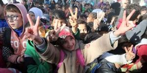 Türkiye'nin Yardım Eli Cerablus'ta Terörün İzlerini Sildi