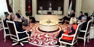 Bosna Hersek'in Hadzici heyeti Meram'da