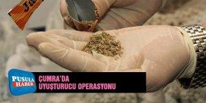 Çumra'da Uyuşturucu Operasyonu: 3 Kişi gözaltına alındı