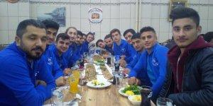 Havzanspor galibiyeti etliekmekle kutladı