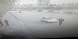 Valiye selam veren polise çarpan sürücü: Trafik yoğundu, kaçamadım