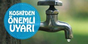 Konya'da yeni su kesintisi