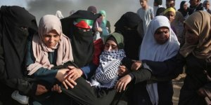 İsrail Askerleri Gazze Sınırında 206 Filistinliyi Yaraladı