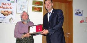 Evini Arsasını Ve Tarlasını Tsk'ya Bağışladı