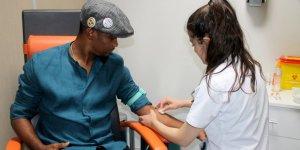 Eto'o sağlık kontrolünden geçti